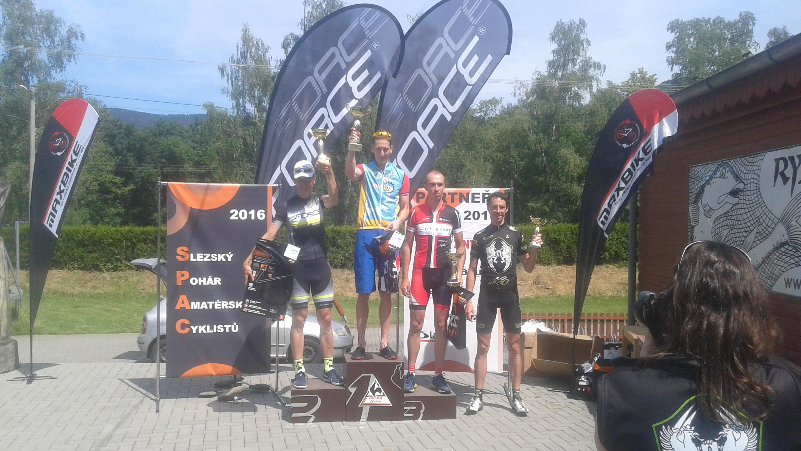 Vratislav Pietrzyk 1.místo, etapový závod SPAC